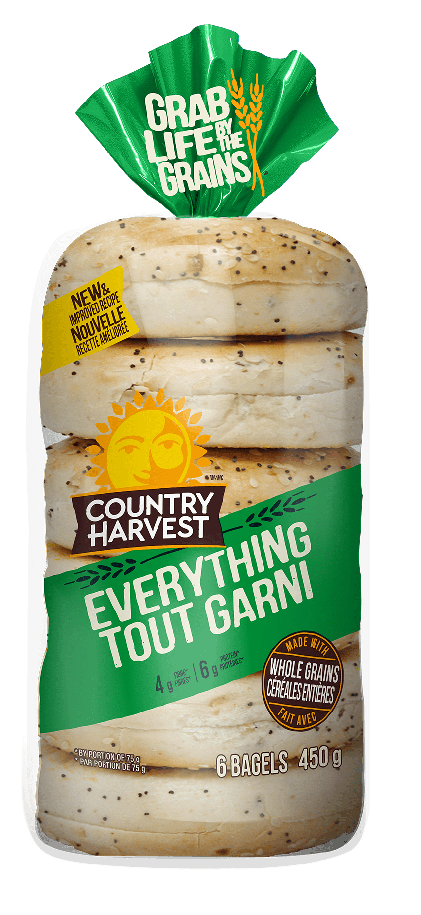 Country Harvest Everything bagel