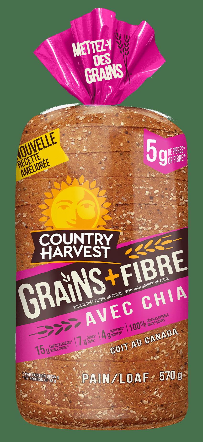 Country Harvest Fibre Chia