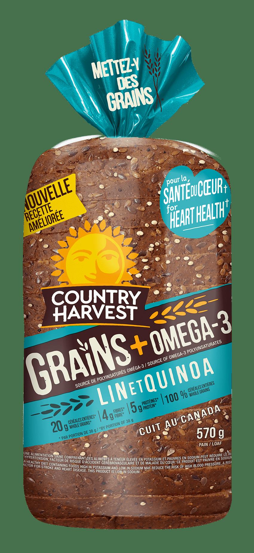 Country Harvest Lin et Quinoa