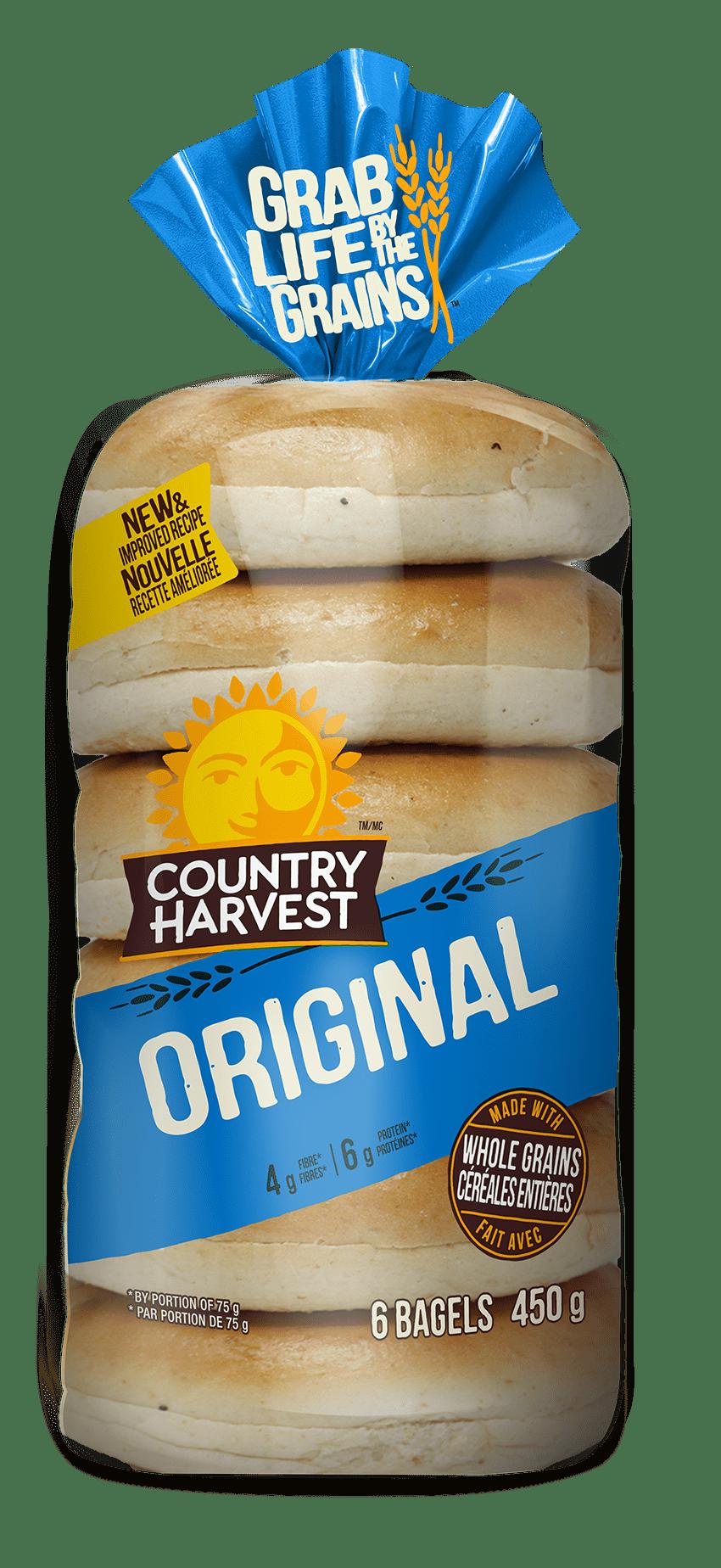 Country Harvest Original bagel