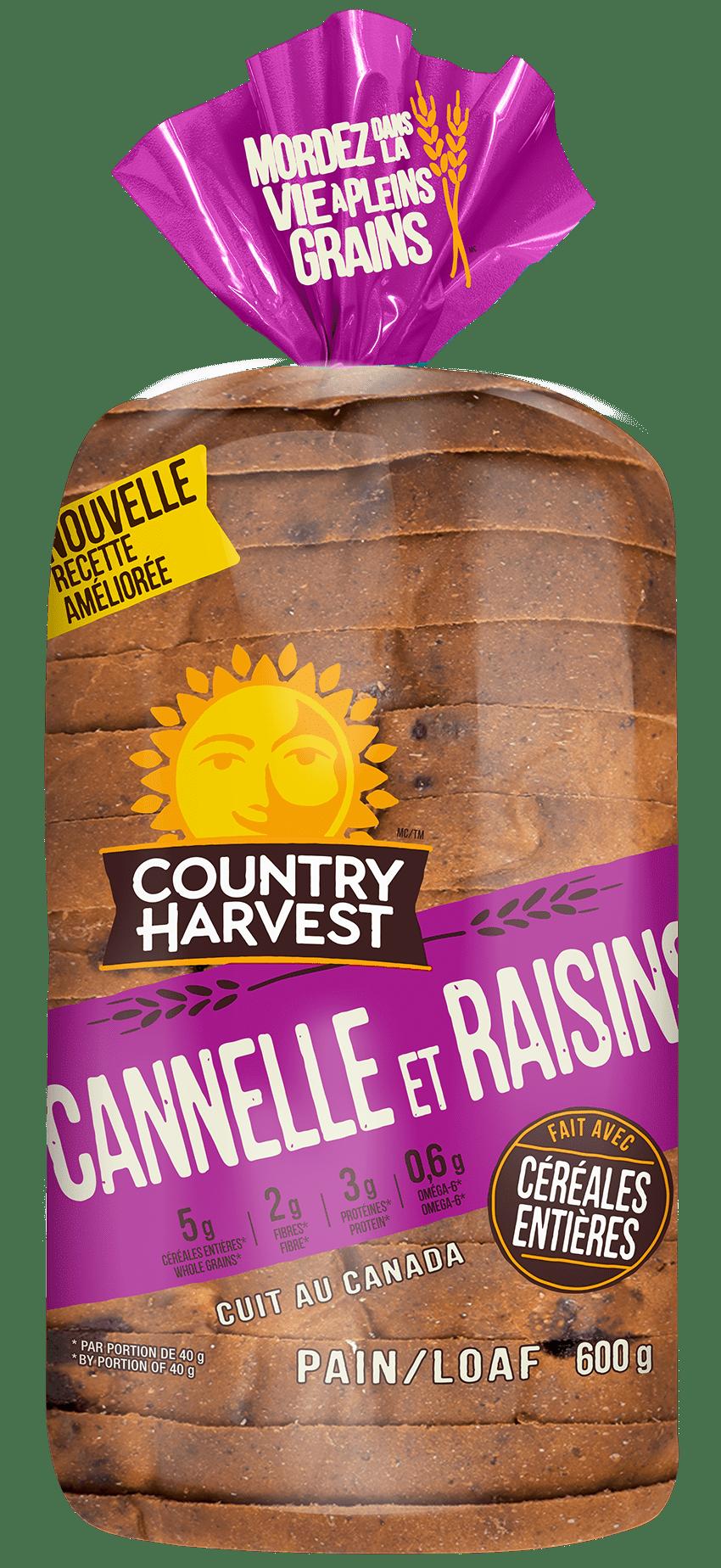 Country Harvest Cannelle Et Raisins