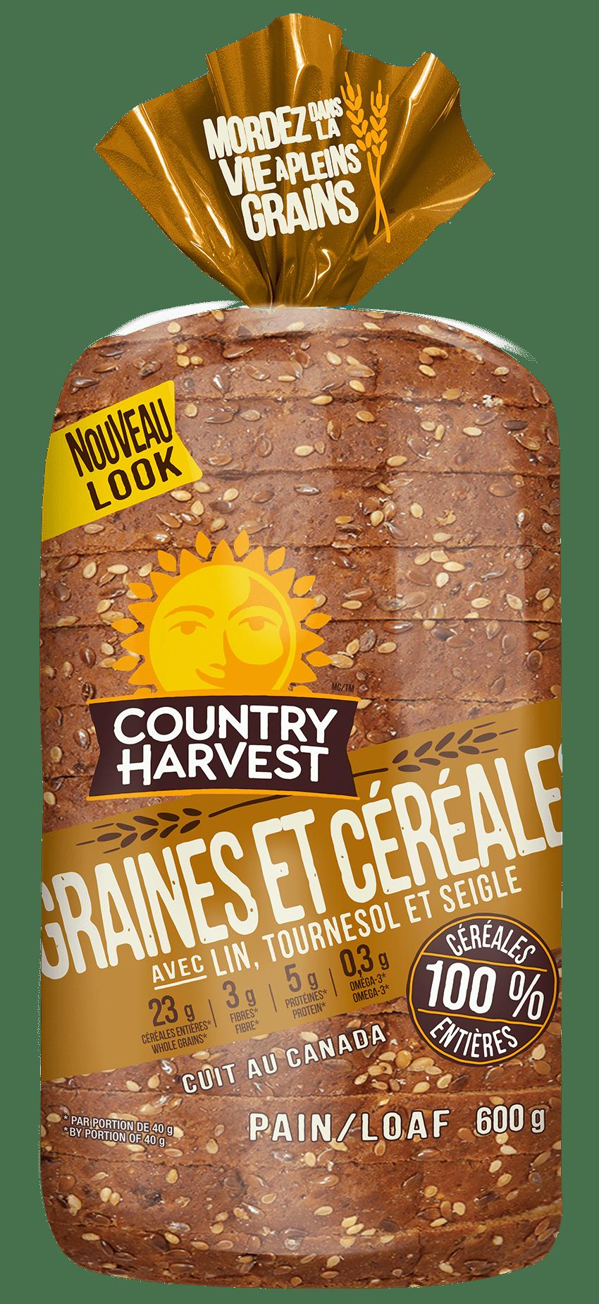 Country Harvest GRAINES ET CÉRÉALES