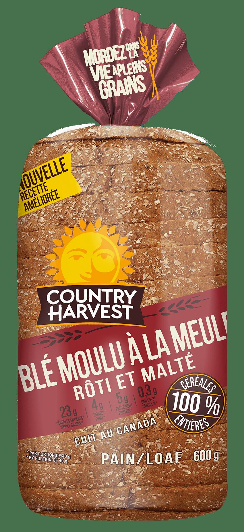 Country Harvest Blé moulu à la meule