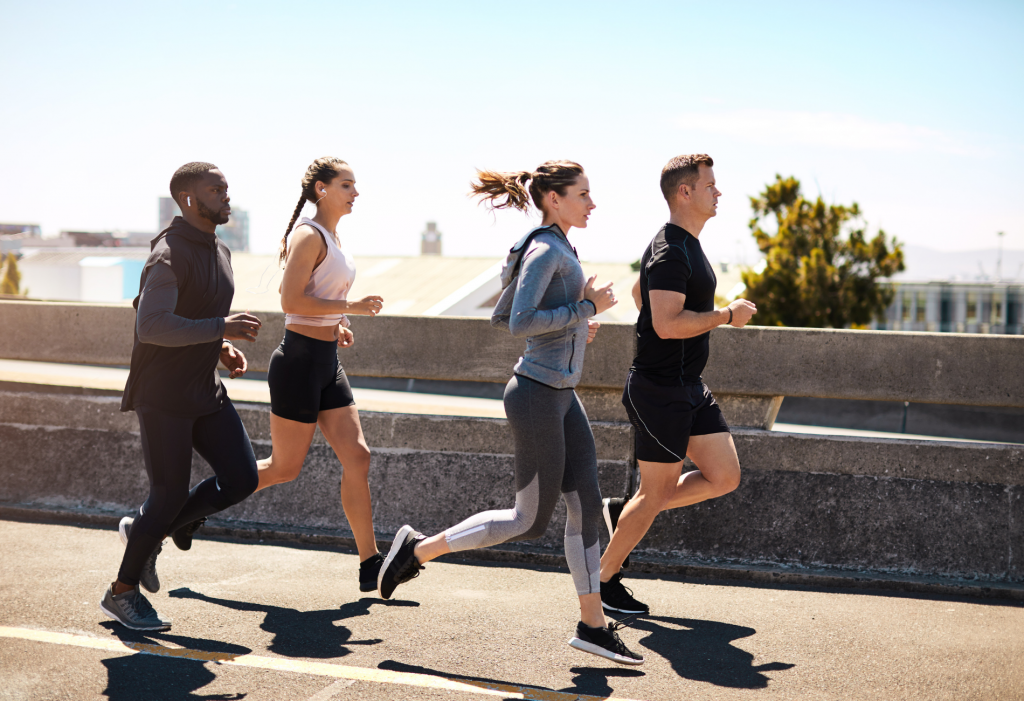 Country Harvest Get Moving This Summer - Start a running club