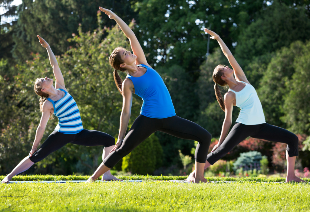 Country Harvest Get Moving This Summer - Yoga in the Park