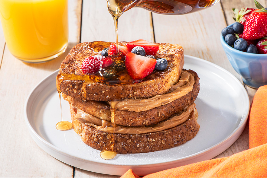 Country Harvest PB Stuffed French Toast