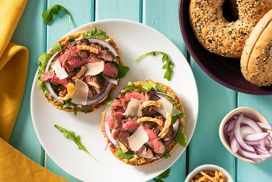 Country Harvest Steak Sandwich